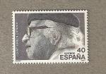 Stamps Spain -  Centenario Nacimiento Ramón Carande