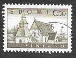 Stamps Finland -  407 - Iglesia Lammi