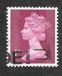Stamps United Kingdom -  MH23 - Reina Isable II (Inglaterra)
