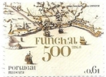 Stamps Portugal -  Funchal 500 años