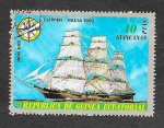 Stamps : Africa : Equatorial_Guinea :  Yt PA78-B - Barcos Antiguos