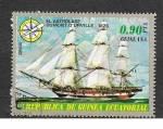 Stamps : Africa : Equatorial_Guinea :  Yt94-C - Barcos Antiguos