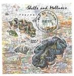 Sellos de Africa - Tanzania -  moluscos