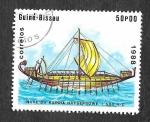 Stamps Guinea Bissau -  729 - Nave Egipcia