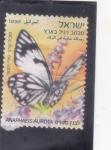 Sellos del Mundo : Asia : Israel : mariposa
