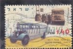 Sellos del Mundo : Asia : Israel : transporte