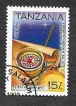Sellos de Africa - Tanzania -  987 - 500 Años del Descubrimiento de América