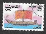 Stamps Afghanistan -  Mi1931 - Naves Antiguas
