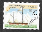 Stamps : Africa : Somalia :  Nave