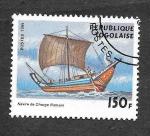 Sellos de Africa - Togo -  1906 - Naves