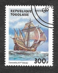 Stamps Togo -  1908 - Naves