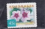 Sellos del Mundo : Oceania : Australia :  flores- ipomoea