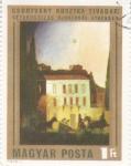 Stamps Hungary -  pintura-Paseos en carruaje en Atenas