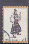 Stamps : Europe : Greece :  traje típico