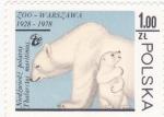 Stamps : Europe : Poland :  oso polar