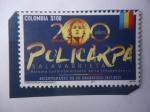 Stamps Colombia -  200 Años-Policarpa Salavarrieta Ríos (1795-1817) Bicentenario de su Fusilamiento, Plaza Mayor de Bog