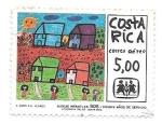 Sellos de America - Costa Rica -  aldeas infantiles