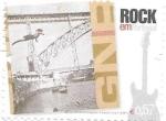 Sellos de Europa - Portugal -  rock en Portugal