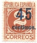 Stamps : Europe : Spain :  Cifra