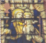 Stamps : Europe : United_Kingdom :  la Virgen y el Niño