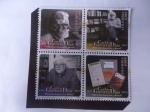 Stamps America - Colombia -  Carlos Gaviria Díaz (1937-2015) Abogado, Profesor Universitario, político-Uno de los mejores Jurista