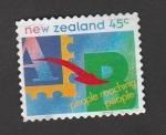 Stamps New Zealand -  Acercando a la gente