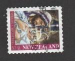 Stamps New Zealand -  Feliz Navidad