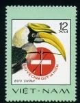 Stamps Asia - Vietnam -  Prohibido cazarlos