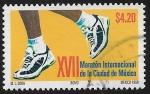 Sellos de America - México -  XVII Maratón Internacional de la Cd de México