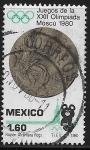 Stamps Mexico -  Juegos Olímpicos de Moscú