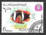 Stamps Yemen -  YT239F - Pez Payaso