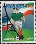 Sellos de America - México -  Campeonato Mundial de Fútbol Francia 1998