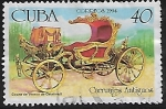 Sellos del Mundo : America : Cuba : Carruajes antiguos:Coche de verano de Catalina II
