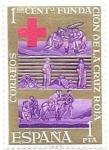 Sellos de Europa - España -  Cruz roja