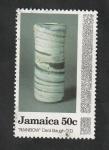Stamps : America : Jamaica :  822 - Cerámica