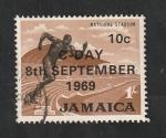 Sellos del Mundo : America : Jamaica : 295 - Estadio nacional