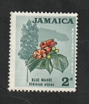 Stamps : America : Jamaica :  226 - Hibiscus