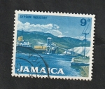 Stamps : America : Jamaica :  232 - Industria del yeso