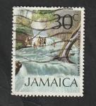 Stamps : America : Jamaica :  364 - Cascadas del río Dunn, Ocho-Ríos