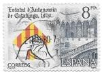 Sellos de Europa - España -  estatuto de cataluña