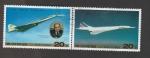 Sellos de Asia - Corea del norte -  Primer vuelo comercial tupolev