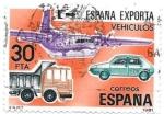 Sellos de Europa - España -  España exporta