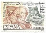 Sellos de Europa - España -  sociedad económica de amigos del país