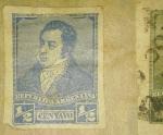 Sellos de America - Argentina -  Rivadavia  Año 1892