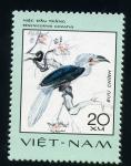 Stamps Asia - Vietnam -  berinicornis comatus