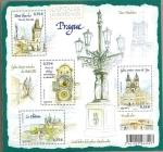 Stamps France -  Capitales Europeas: Praga