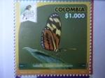 Sellos del Mundo : America : Colombia : Isabella - Eueibelle Arcuata - Risaralda Bird Festival 2018