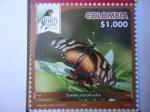Sellos del Mundo : America : Colombia : Eueides Procula  Edias - Risaralda Bird Festival 2018