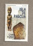 Stamps Chile -  Isla de Pascua