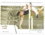 Stamps : Europe : Portugal :  mundial de pista cubierta